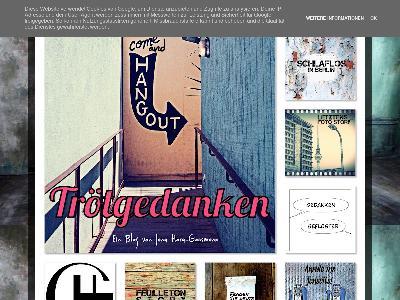 http://troetgedanken.blogspot.com