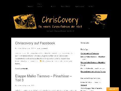 http://www.chriscovery.de
