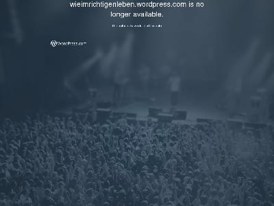 https://wieimrichtigenleben.wordpress.com/