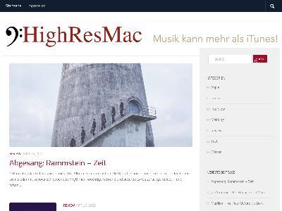 http://www.highresmac.de