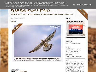 http://www.kunstvomfeld.de/
