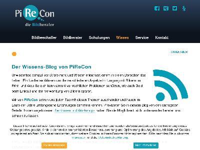 http://www.pirecon.de/wissen/wissens-blog.html