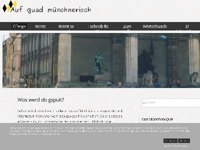 http://www.aufguadmuenchnerisch.de