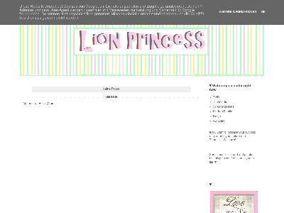 http://www.newlionprincess.blogspot.com/