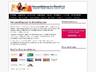 http://www.alle-versandhaeuser.de