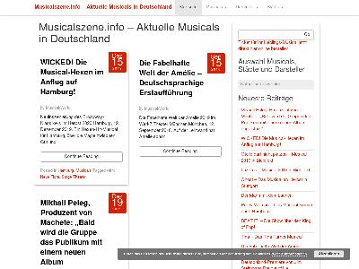 http://musicalszene.info