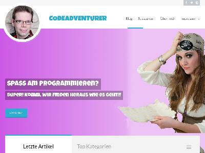 http://www.codeadventurer.de