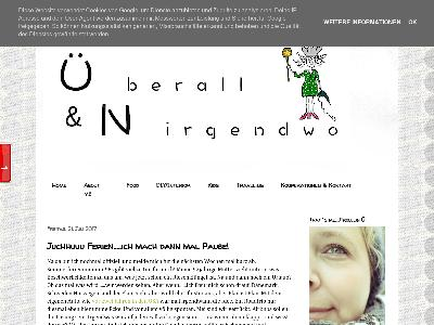 https://ueberallunirgendwo.blogspot.com/
