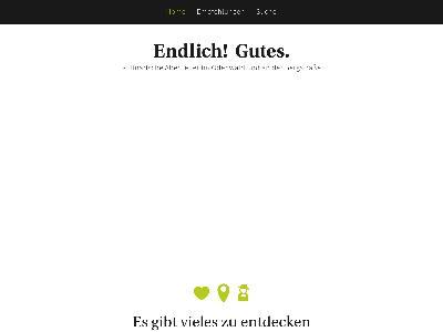 http://endlichgutes.de/