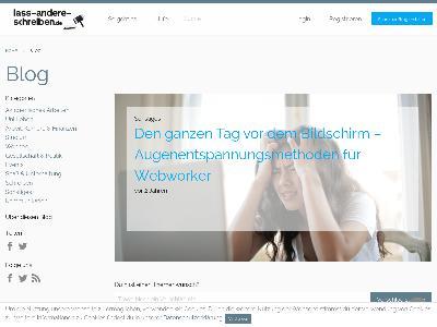 https://www.lass-andere-schreiben.de/blog/