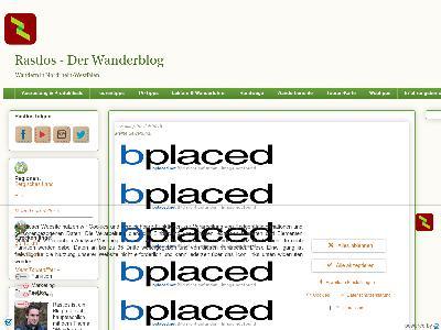 http://www.rastloswanderblog.de