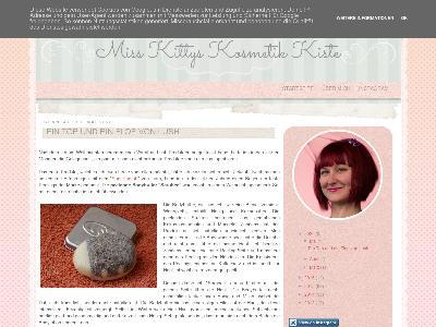 http://misskittyskosmetikkiste.blogspot.com/