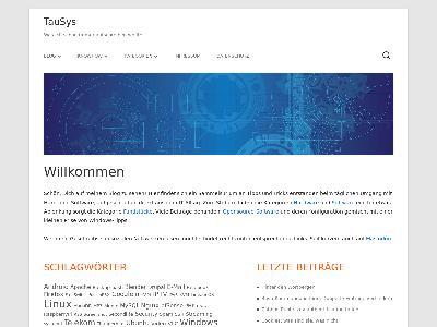 https://blog.tausys.de