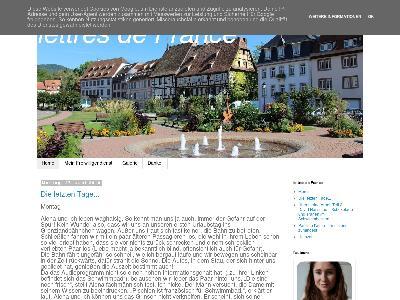 http://lettresdefrance.blogspot.com/