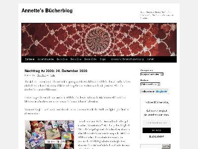 http://buecherblog.annette-katrin.de/