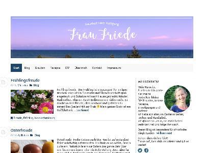 http://www.fraufriede.de/