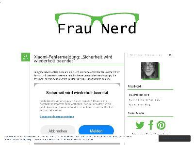 http://fraunerd.de/