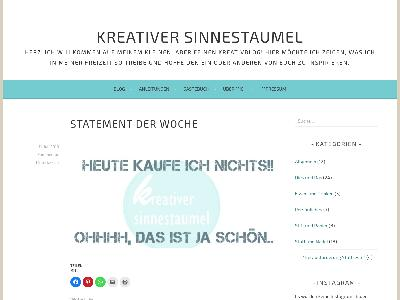 https://kreativersinnestaumel.wordpress.com/