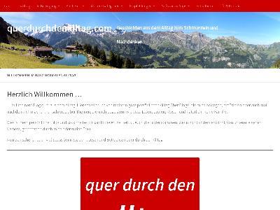 https://www.querdurchdenalltag.com/