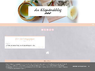 http://klopstockblog.blogspot.com/