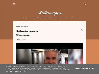 http://kultursuppe.blogspot.com/