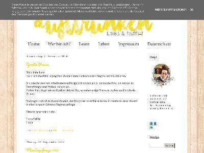 http://dufttrunken.blogspot.com