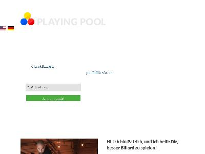 http://www.playing-pool.com
