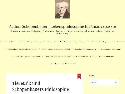 https://schopenhauerphilosophie.wordpress.com