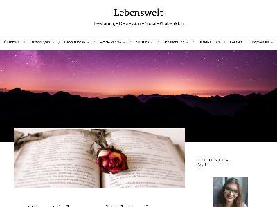 https://lebenswelt.blog