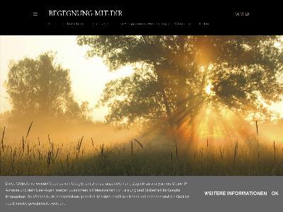 http://begegnung-mit-dir.blogspot.com
