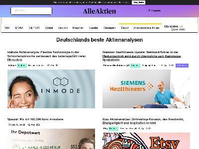 https://www.alleaktien.de