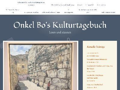 https://onkelboskulturtagebuch.wordpress.com