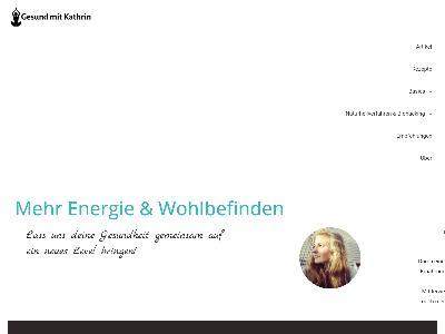 https://gesund-mit-kathrin.de