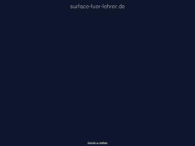 http://surface-fuer-lehrer.de