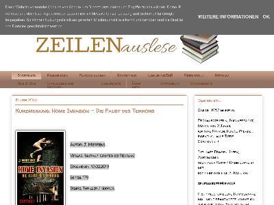 https://zeilenauslese.blogspot.com