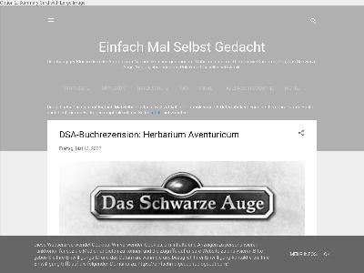 https://einfachmalgedacht.blogspot.com