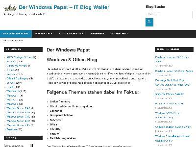 https://www.der-windows-papst.de