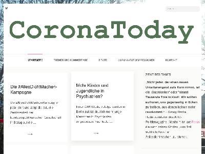 http://coronatoday.de