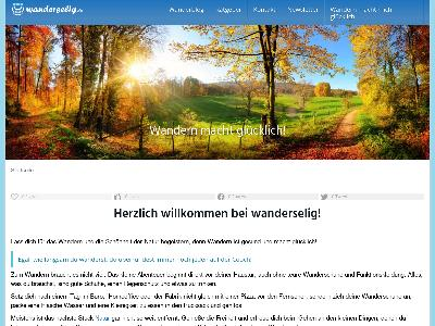 https://www.wanderselig.de