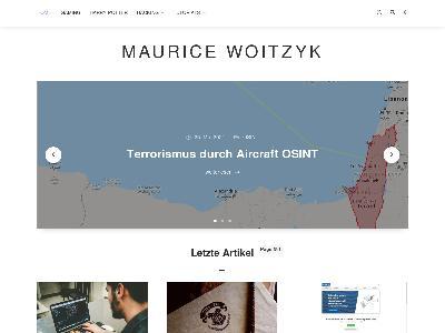 https://www.mauricewoitzyk.de