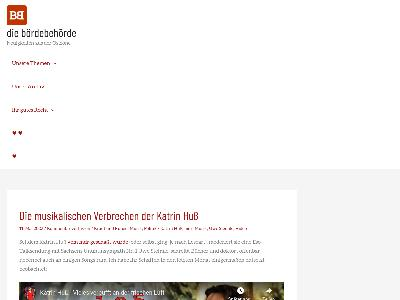 http://www.boerdebehoerde.de