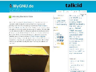 http://www.mygnu.de